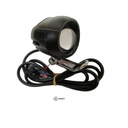 Head light for electric scooter