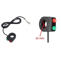 Light and horn switch for el. scooters S8X